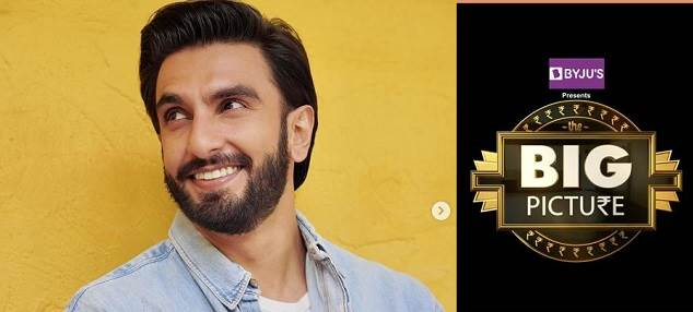 Ranveer Singh to Host his First TV Show